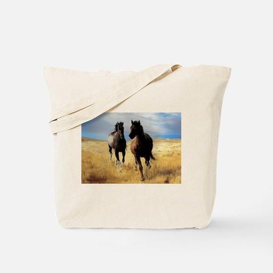 Yantis Mustangs / Nevada Ghosts Tote Bag