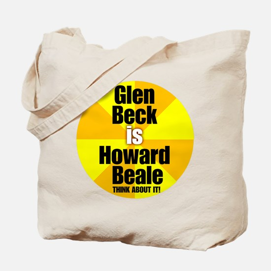 Glen beck IS Howard Beale Tote Bag