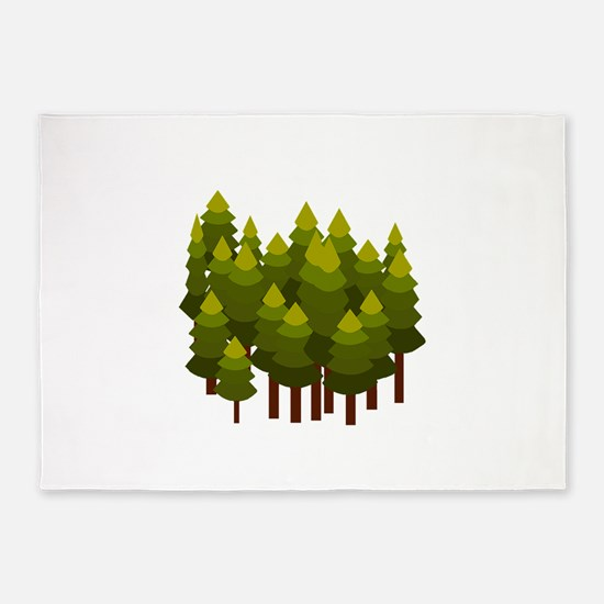FOREST 5'x7'Area Rug