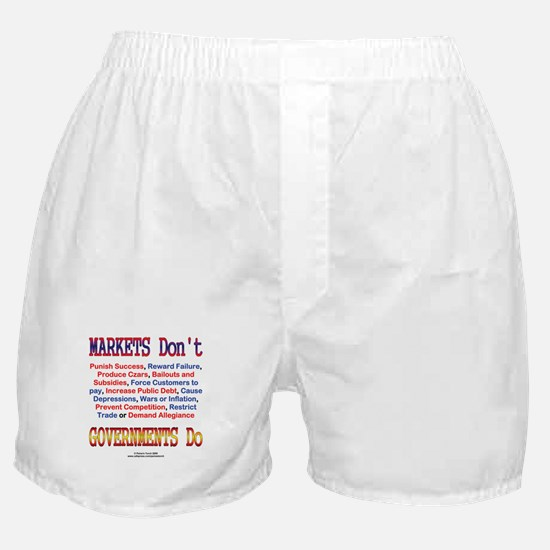Markets and Governments Boxer Shorts
