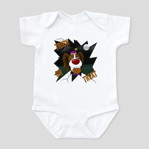 Papillon Clown Halloween Infant Bodysuit