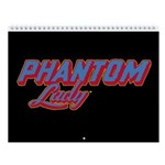 Classic Phantom Lady 2018 Wall Calendar