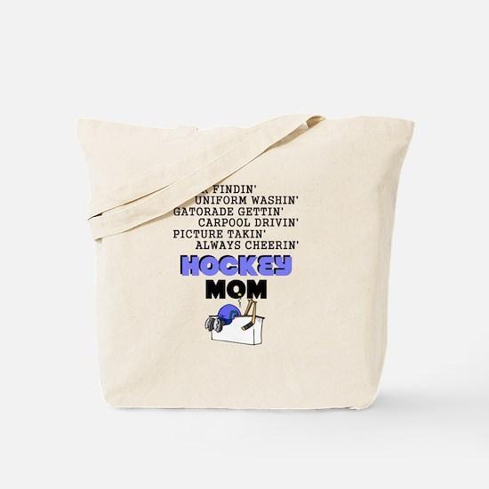HOCKEY MOM Tote Bag
