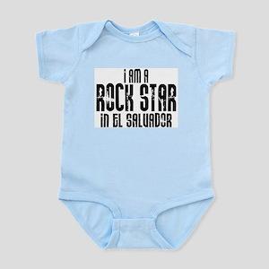 Rock Star In El Salvador Infant Creeper