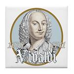 Antonio Vivaldi Tile Coaster