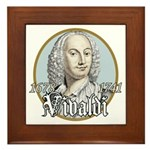 Antonio Vivaldi Framed Tile