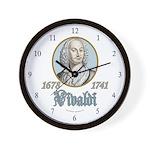 Antonio Vivaldi Wall Clock