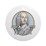 Antonio Vivaldi Ornament (Round)
