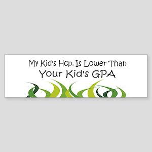 Fun Golf Hcp Bumper Sticker
