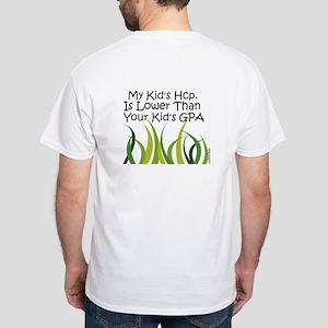 White Golf Hcp Fun T-Shirt