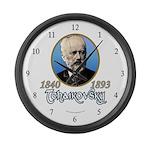 Tchaikovsky Large Wall Clock