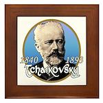 Tchaikovsky Framed Tile