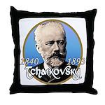 Tchaikovsky Throw Pillow