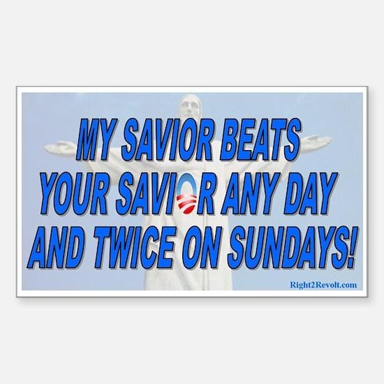 Savior (sticker)
