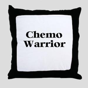Chemo Warrior Throw Pillow