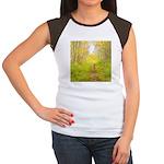 Aspen Trail Deer Women's Cap Sleeve T-Shirt