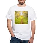 Aspen Trail Deer White T-Shirt