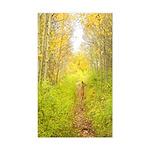 Aspen Trail Deer Rectangle Sticker