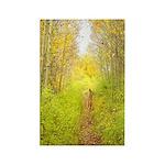 Aspen Trail Deer Rectangle Magnet (100 pack)