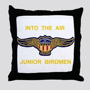 Junior Birdmen Throw Pillow