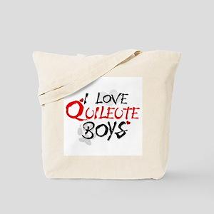 I Love Quileute Boys Tote Bag