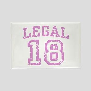 Legal 18 Rectangle Magnet