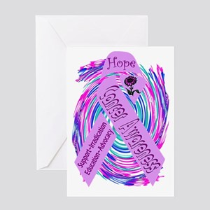 Cancer Awareness and Support Greeting Card