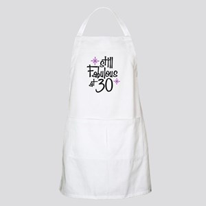 Still Fabulous at 30 BBQ Apron