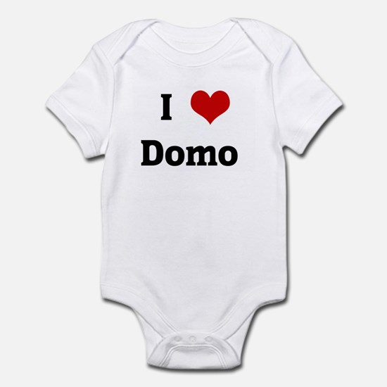 I Love Domo Infant Bodysuit