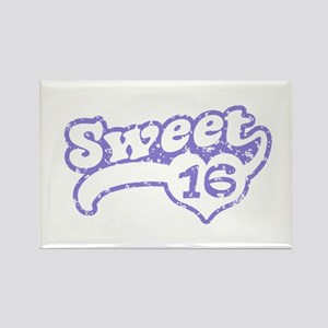 Sweet 16 Rectangle Magnet