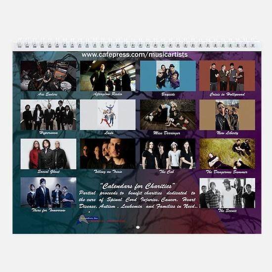 Alternative/Rock/Indie 2013 Wall Calendar