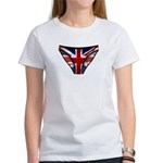Union Jack Underwear Print Women's T-Shirt