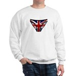 Union Jack Underwear Print Sweatshirt
