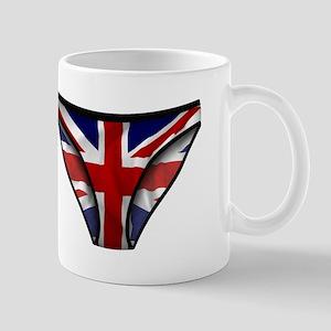 Union Jack Underwear Print Mug