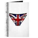 Union Jack Underwear Print Journal