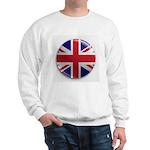 Round Union Jack Sweatshirt