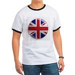 Round Union Jack Ringer T