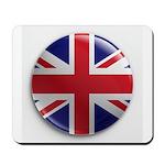 Round Union Jack Mousepad