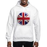 Round Union Jack Hooded Sweatshirt