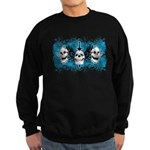 3 Skull Sweatshirt (dark)