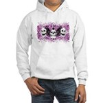 3 Skull Hooded Sweatshirt