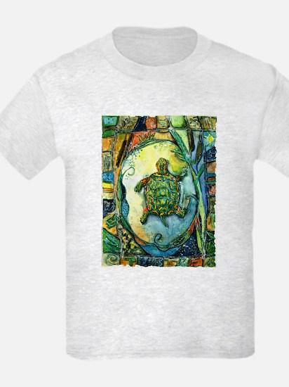 Kids Light Brother Turtle T-Shirt