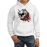 Dagger And Skull Hooded Sweatshirt