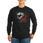 Dagger And Skull Long Sleeve Dark T-Shirt