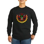 Skulls & Guns Long Sleeve Dark T-Shirt