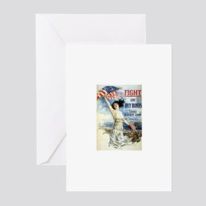 Vintage WWII Poster Greeting Cards (Pk of 10)