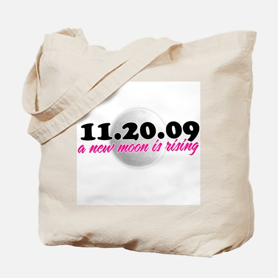 a new moon is rising Tote Bag