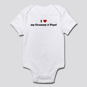 I Love my Grammy & Pops! Infant Bodysuit