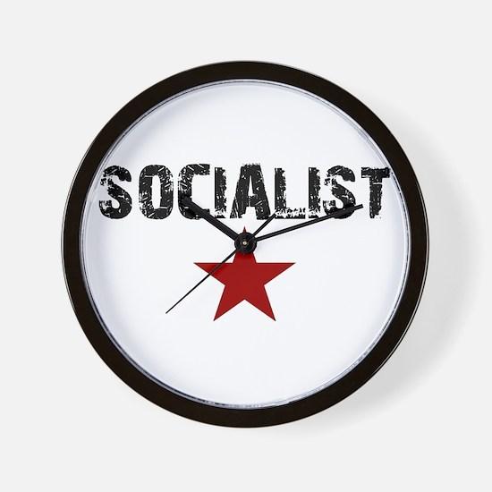 Cute Socialism Wall Clock