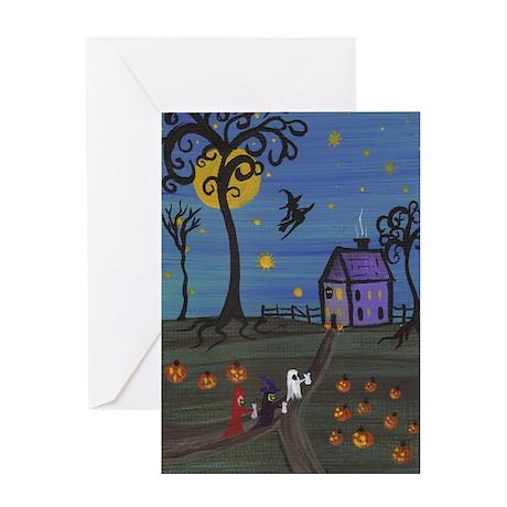 Halloween Trick-or-Treat Greeting Card